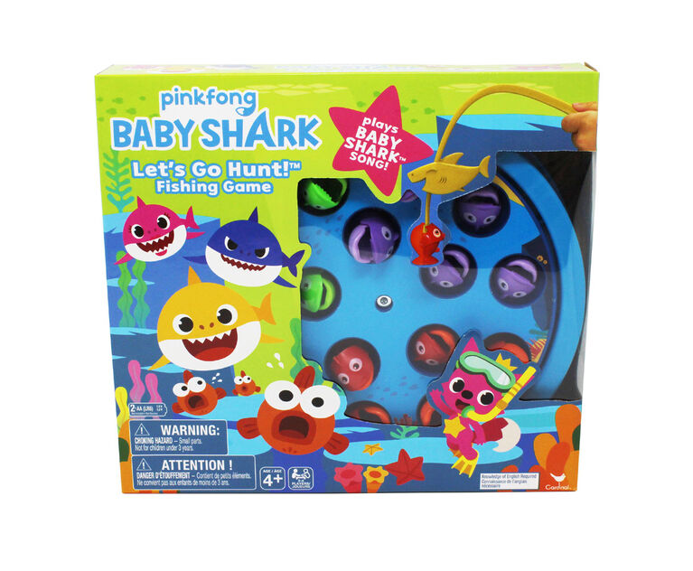 Baby Shark Let's Go Hunt Fishing Game - English Edition
