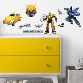 Transformers Bumble Bee Peel & Stick Wall Decals