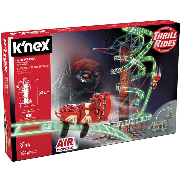 K'Nex Web Weaver Roller Coaster