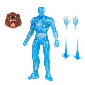 PRE-ORDER, SHIPS JUL 5, 2021 - Hasbro Marvel Legends Series Hologram Iron Man Action Figure Build-a-Figure