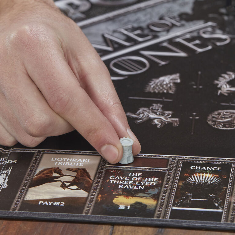 Monopoly Game of Thrones Board Game - English Edition