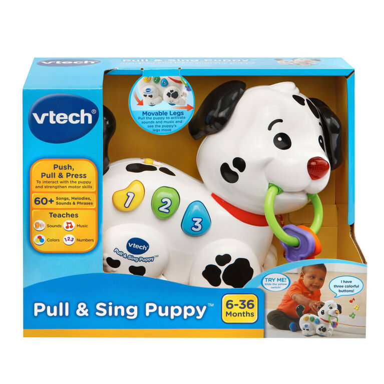 Pull & Sing Puppy - English Edition