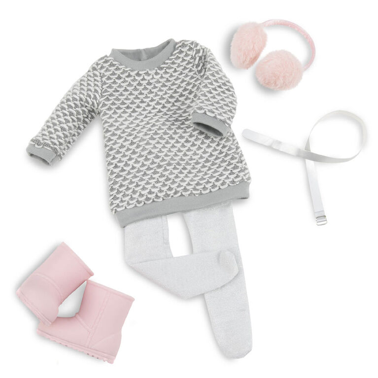 Our Generation, Winter Style, Sweater-Dress Outfit for 18-inch Dolls