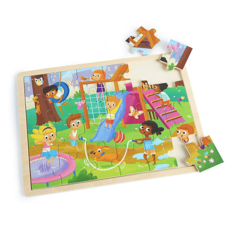 Imaginarium Discovery - Wooden Jigsaw Puzzle Assortment - Park