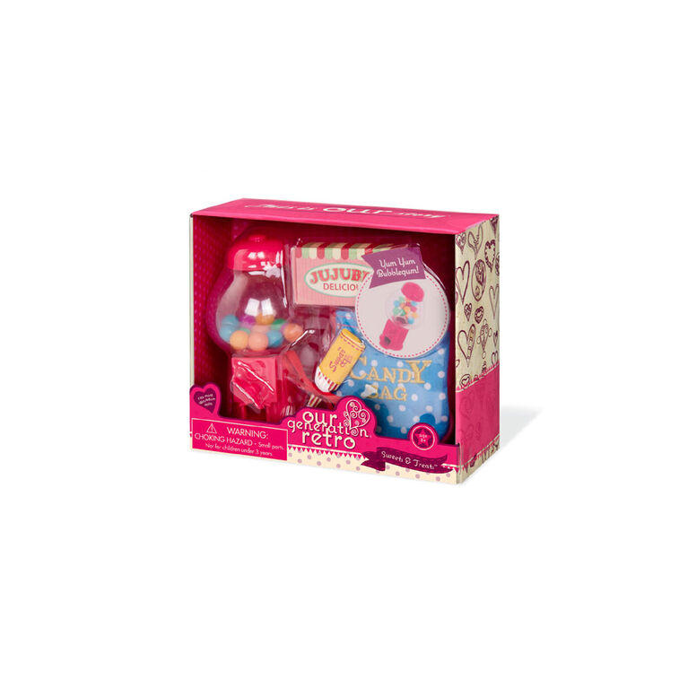 Our Generation, Sweets & Treats, Retro Candy Set for 18-inch Dolls