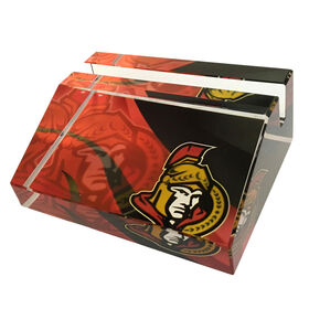 NHL Business Card Stand Ottawa Senators