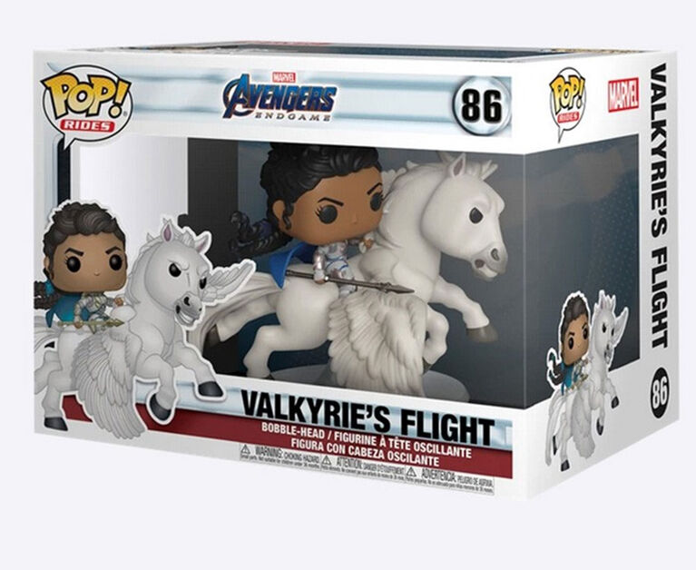 Funko POP Rides! Marvel: Avengers Endgame - Valkyrie on Horse