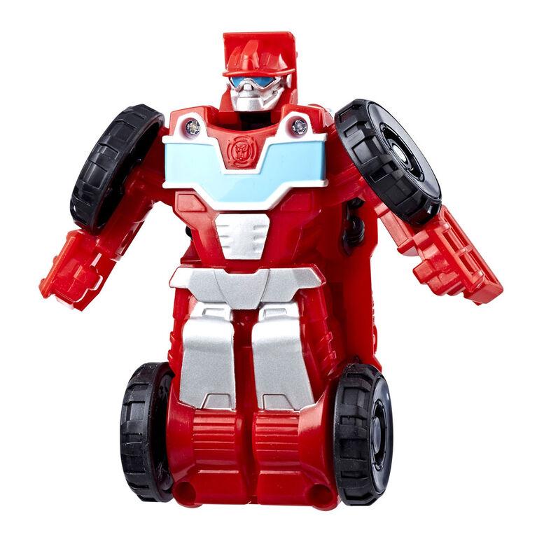 Playskool Heroes Transformers Rescue Bots Flip Racers Heatwave the Fire-Bot