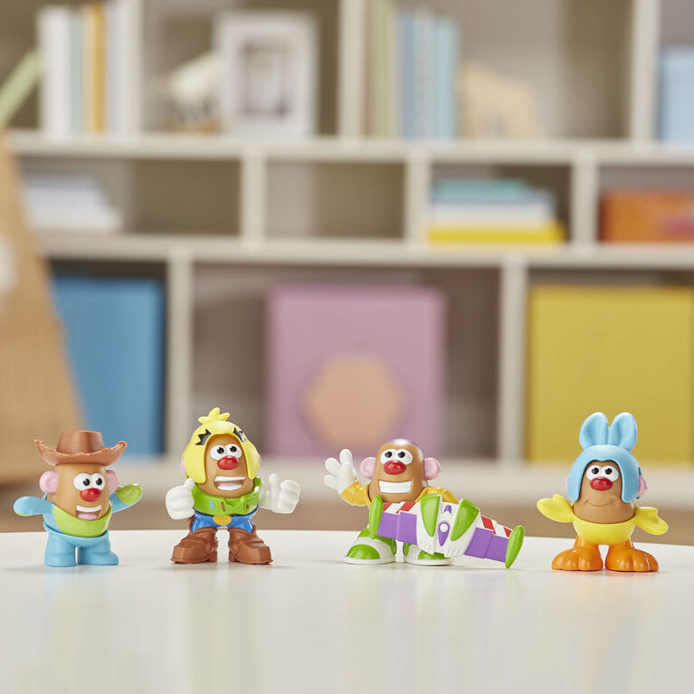 Mr Potato Head Disney/Pixar Histoire de jouets - Emballage de 4 figurines