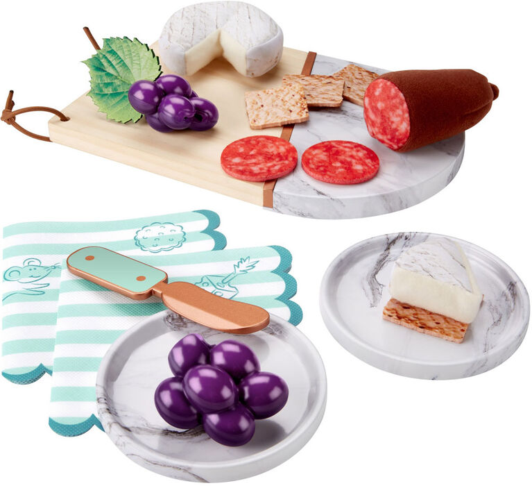 Fisher-Price Snacks for Two - Meat & Cheese Board
