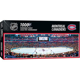 Montreal Canadiens™ 1000 Piece Stadium Panoramic Puzzle