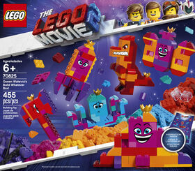 LEGO The LEGO Movie 2 Queen Watevra's Build Whatever Box! 70825