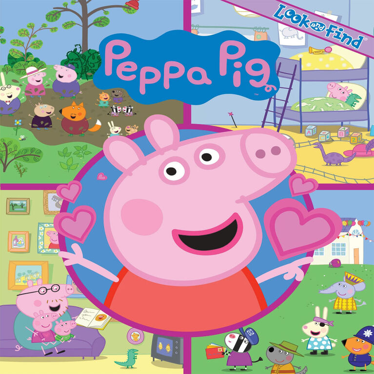 Look And Find Peppa Pig - English Edition