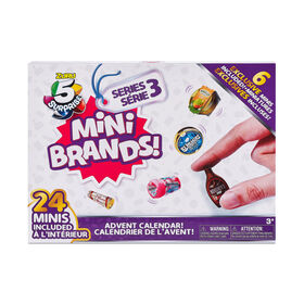 5 Surprise Mini Brands Series 3 Limited Edition 24-Surprise Pack avec 6 Minis exclusifs par ZURU