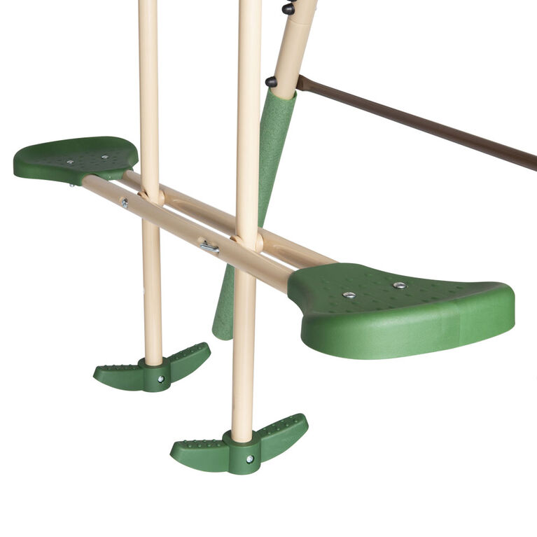 Action 4 Piece Metal Swing Set with Slide Green - R Exclusive