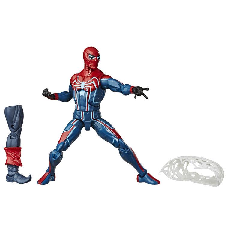 Marvel Spider-Man Legends Series 6-inch Action Figure Velocity Suit Spider-Man