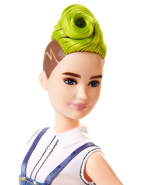 Barbie Fashionistas Doll #124 - Green Mohawk