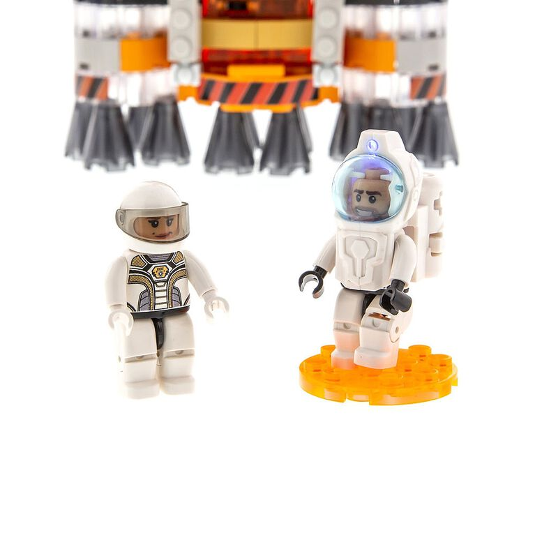 Laser Pegs Mission Mars Collection - Mars Rocket