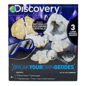 DISCOVERY Casse tes Propres Géodes