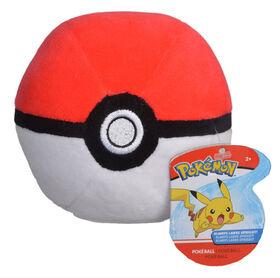 """Pokémon 4"""" Pokeball Plush - Pokeball"""