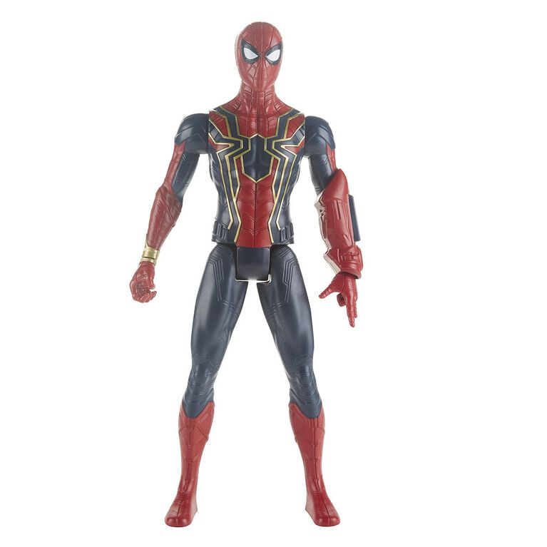 Marvel Avengers Titan Hero Series Iron Spider with Titan Hero Power FX Port