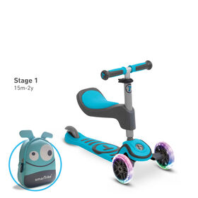 smarTrike T1 3 Stage scooTer - Blue