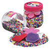 4000 Beads & Pegboards In Jar