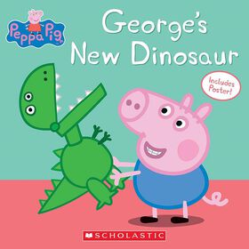 Peppa Pig: George's New Dinosaur - Édition anglaise.