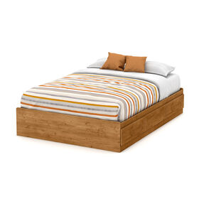 Little Treasures Mates Bed with 3 Drawers- Country Pine