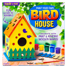 Made By Me- Paint Your Own Bird House
