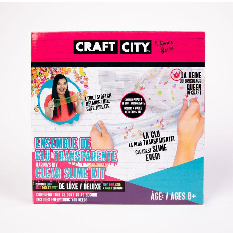 Craft City by Karina Garcia DIY Clear Slime Kit - R Exclusive