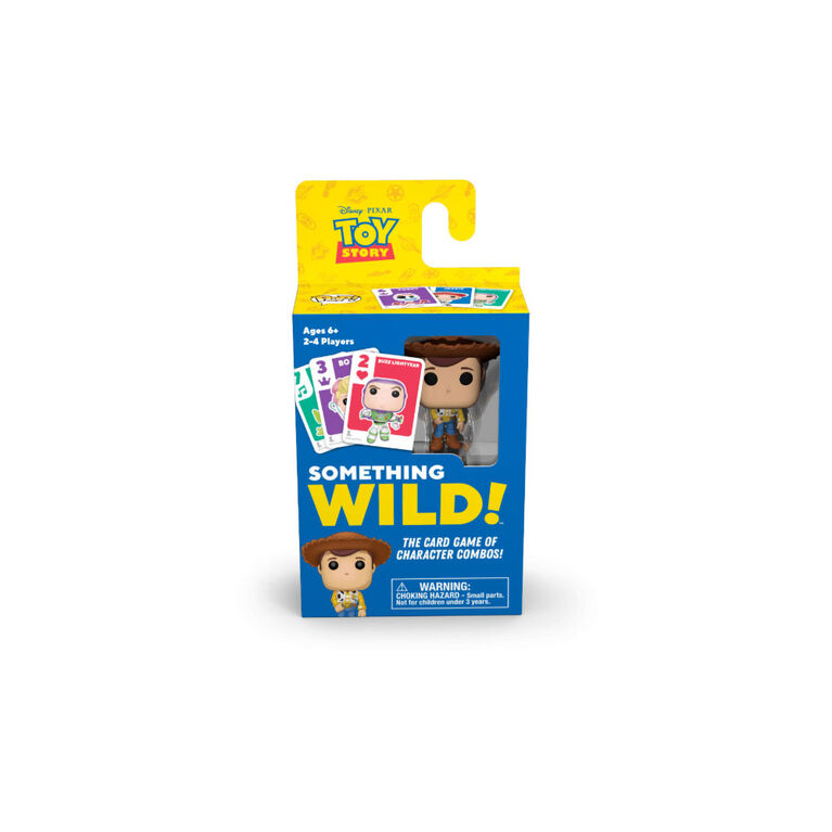 Something Wild Card Game Toy Story - English Edition