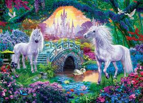 Eurographics Unicorns in Fairy Land Oversize 500 PC Puzzle