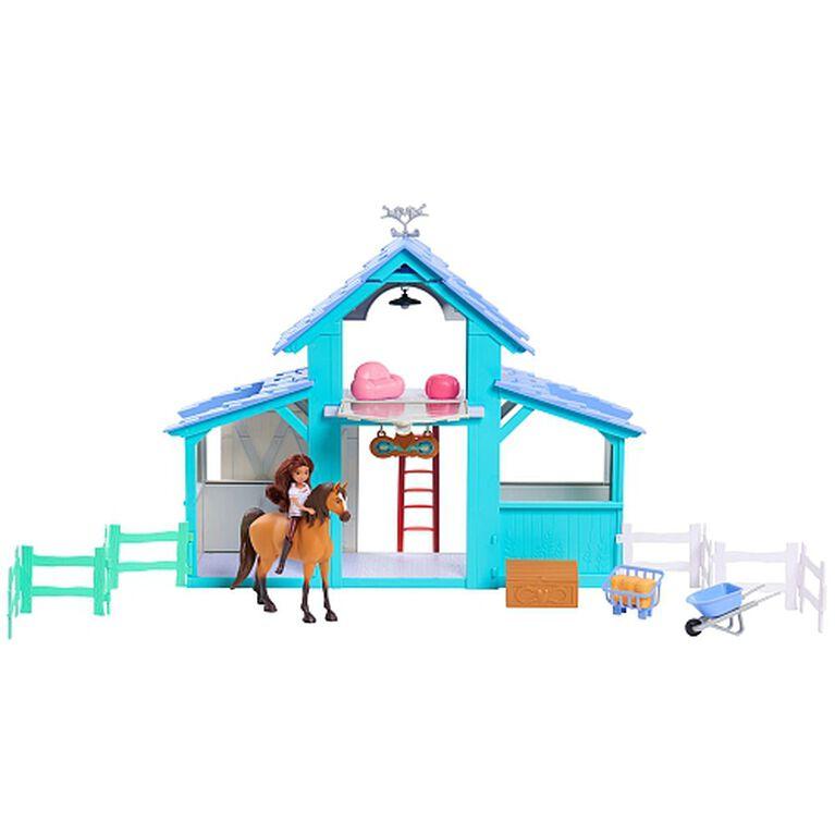 Spirit Riding Free Barn Playset