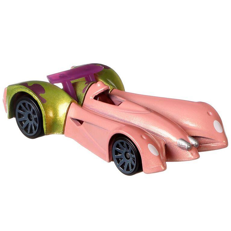 Hot Wheels Character Cars Nickelodeon's SpongeBob Squarepants Patrick