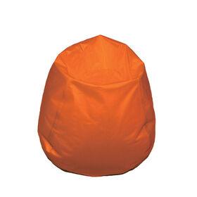 Boscoman - Fauteuil poire rond format jeunesse - orange