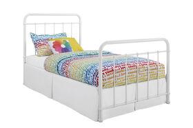 DHP - Brooklyn Twin Bed, White