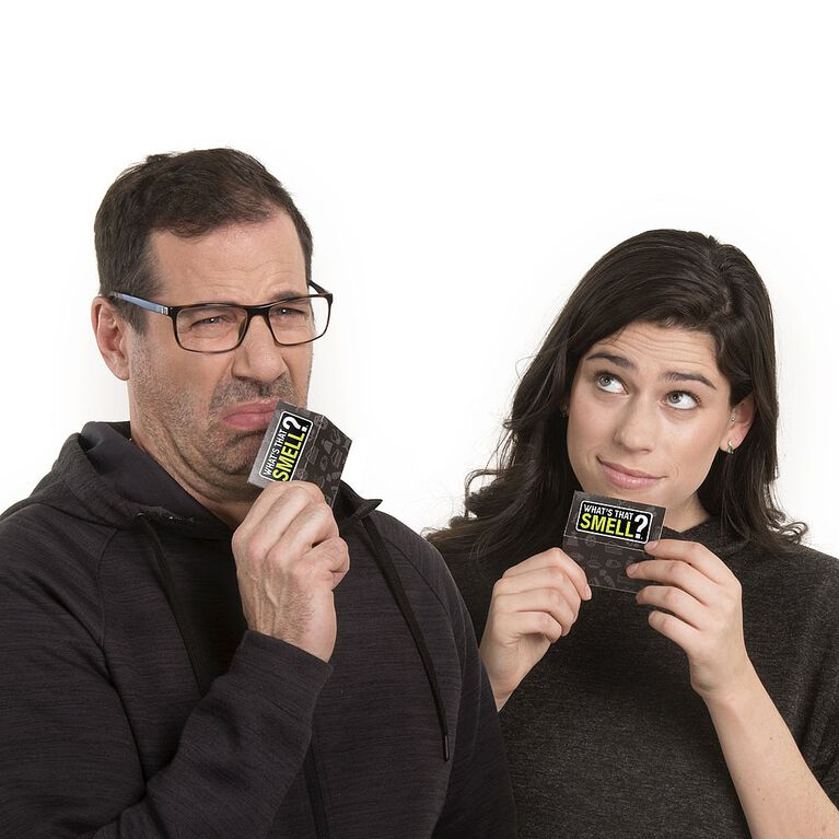 What's That Smell? The Party Game That Stinks - Scent Guessing Game for Adults and Families