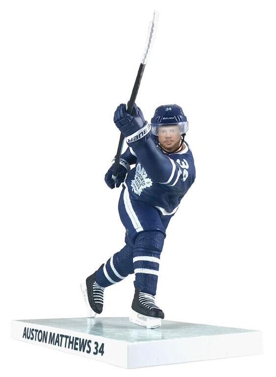 "Auston Matthews Maple Leafs de Toronto LNH Figurine 6""."