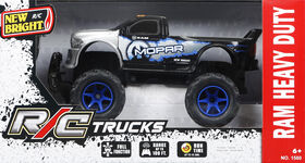New Bright - 1:15 R/C Jeep - Ram Heavy Duty (Blue)