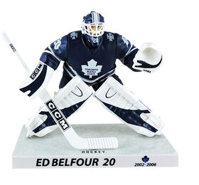 Ed Belfour Maple Leafs de Toronto Figurine légendaire de la LNH 6'.