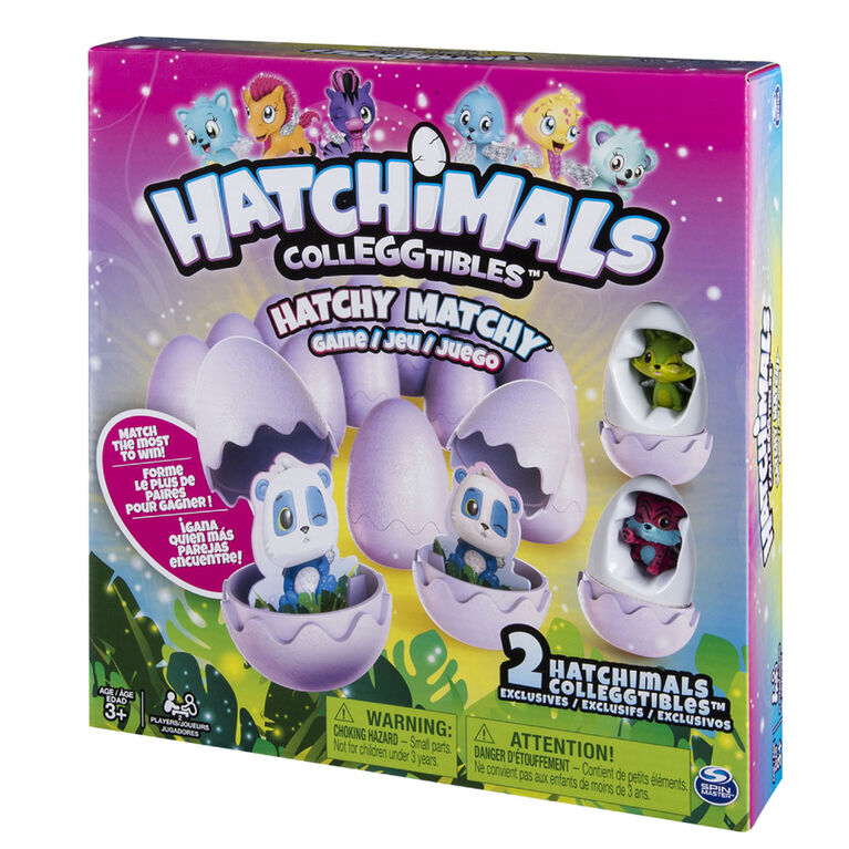 Hatchimals – Hatchy Matchy Game with Two Exclusive CollEGGtibles
