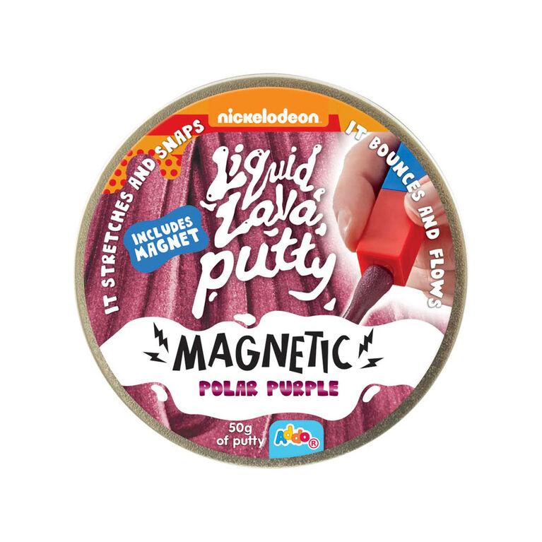 Nickelodeon Liquid Lava Putty Magnetic Polar Purple - Notre exclusivité