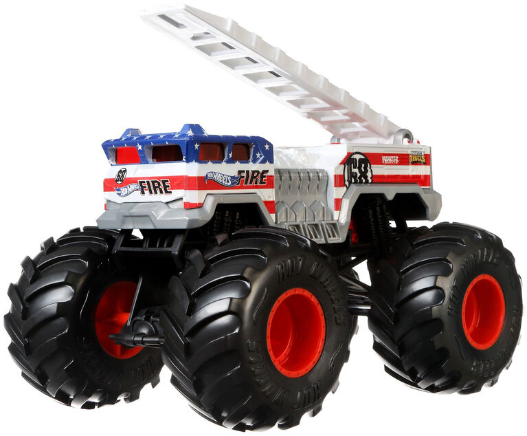 Hot Wheels Monster Trucks 1:24 5 Alarm Vehicle