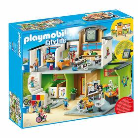 Playmobil - Ecole aménagée