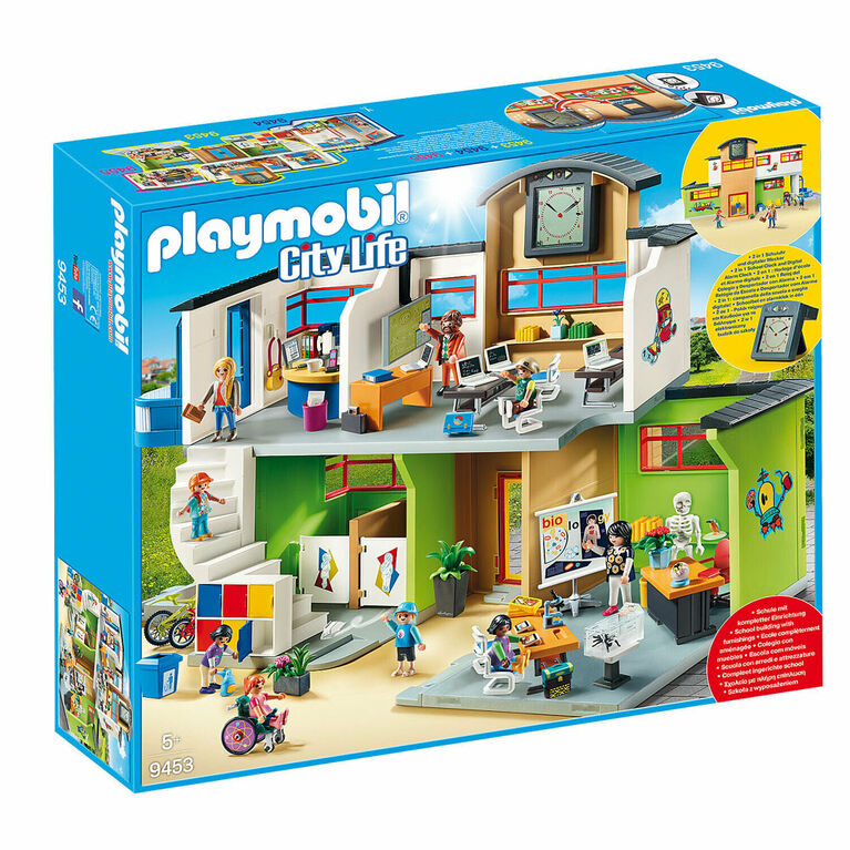 Playmobil - Furnished School Building