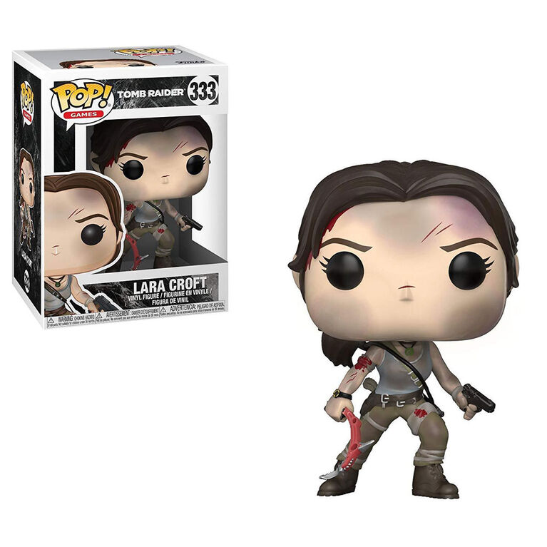 Funko Pop! Games: Tomb Raider - Lara Croft Vinyl Figure