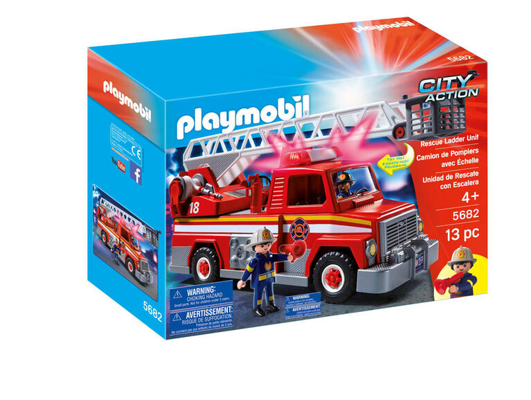 Playmobil Rescue Ladder Unit - styles may vary
