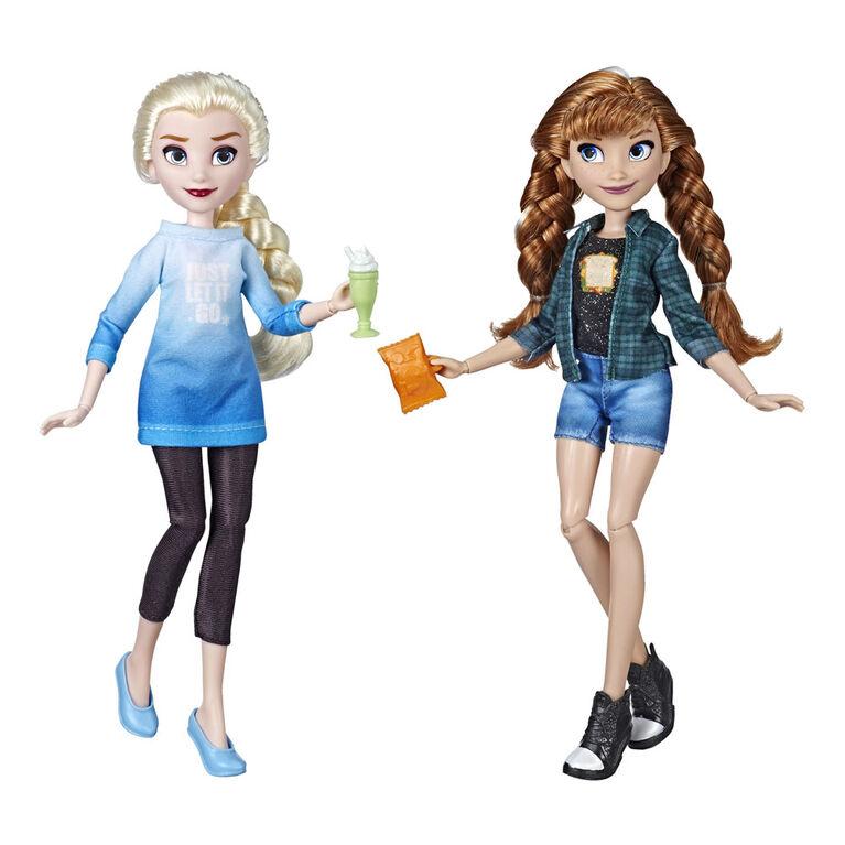 Disney Princess Ralph Breaks the Internet Movie Dolls, Elsa and Anna