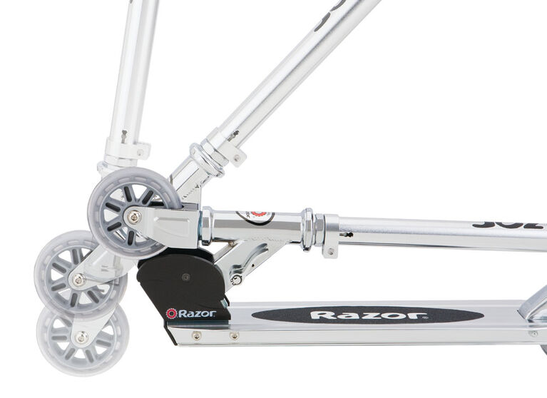 Razor - 98mm A Kick Scooter - Black